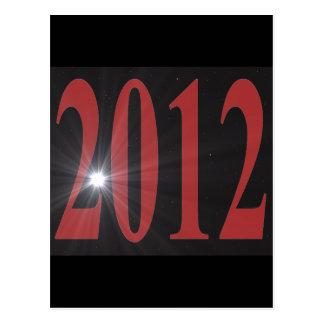 Starburst 2012 tarjeta postal
