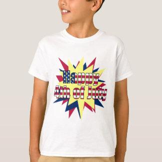 Starburst 4th of July Kids T-Shirt