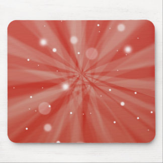 Starburst and snow mouse pad