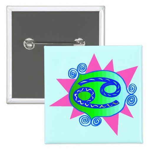 Starburst Cancer Pin