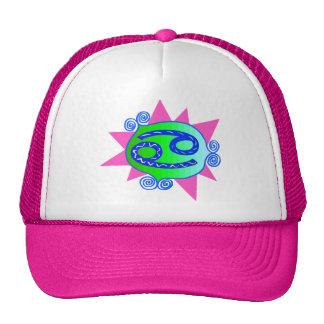 Starburst Cancer Mesh Hats