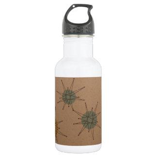 Starburst clock water bottle