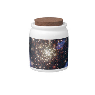 Starburst Cluster Universe Candy Dishes