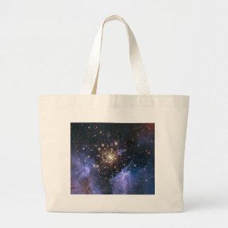 Starburst Cluster Universe Canvas Bags