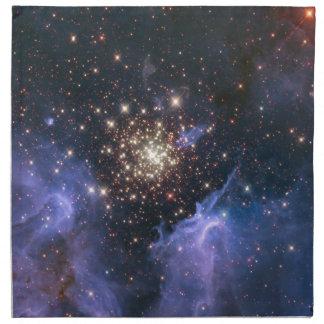 Starburst Cluster Universe Printed Napkin