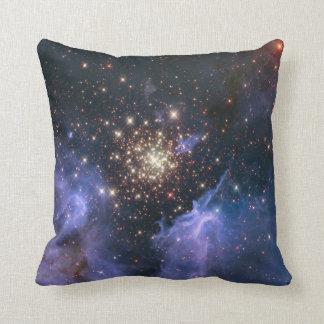 Starburst Cluster Universe Throw Pillows