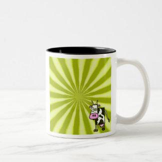 Starburst Cow Mug