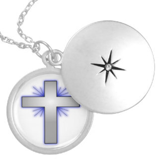 STARBURST CROSS NECKLACE