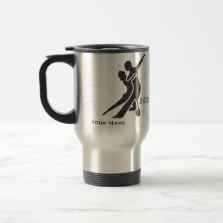 Starburst Dancers - Coal Travel Mug