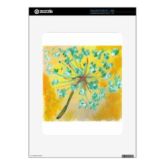 starburst decal for iPad