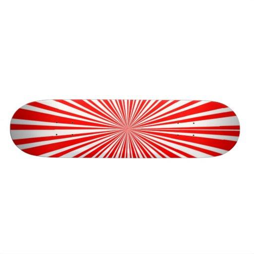 Starburst Deck (Red) Skateboards
