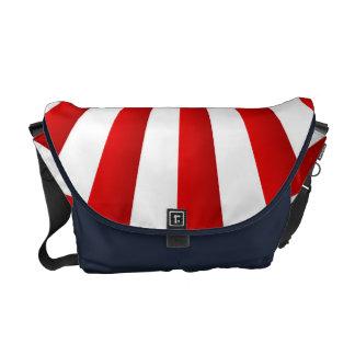 Starburst design courier bag