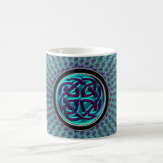 Starburst Fractal Mandala Celtic Knot Classic White Coffee Mug