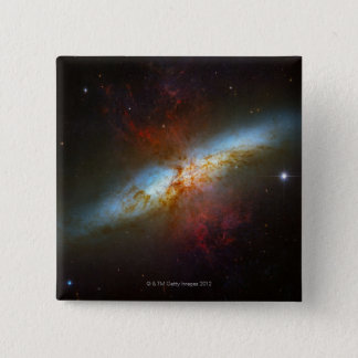 Starburst Galaxy M82 Button