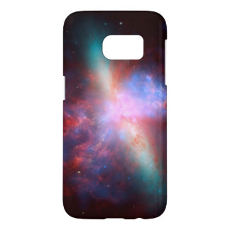 Starburst Galaxy M82 From Hubble Space Telescope Samsung Galaxy S7 Case