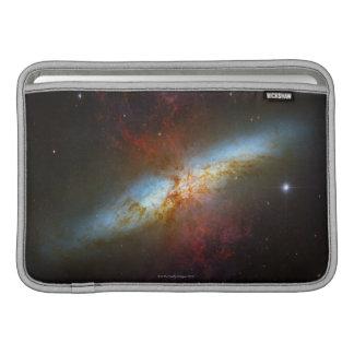 Starburst Galaxy M82 MacBook Air Sleeves