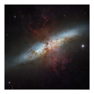 Starburst Galaxy M82 Print