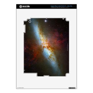 Starburst Galaxy M82 Skins For iPad 3