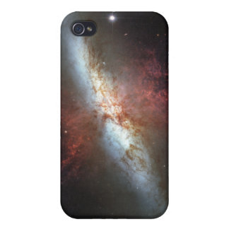 Starburst galaxy, Messier 82 Cases For iPhone 4