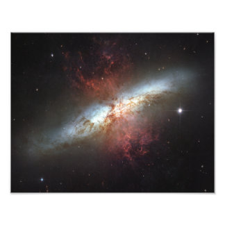 Starburst galaxy, Messier 82 Photo Print