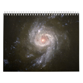 Starburst Galaxy NGC 3310 Blazes Wall Calendars