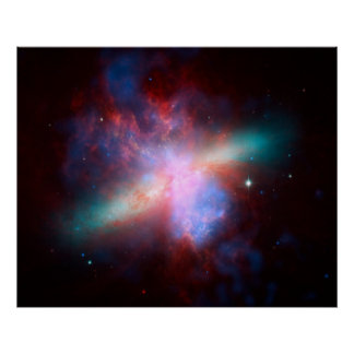 Starburst Galaxy Print