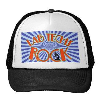 STARBURST LAB TECHS ROCK (LABORATORY SCIENTIST) TRUCKER HAT