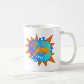 Starburst Leo Coffee Mug