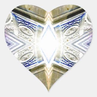 Starburst Light - CricketDiane Urban Decor Heart Sticker