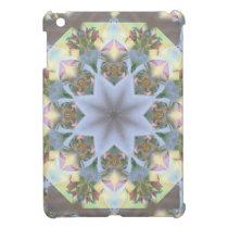 Starburst Mandala Lavender iPad Mini Glossy Case Cover For The iPad Mini