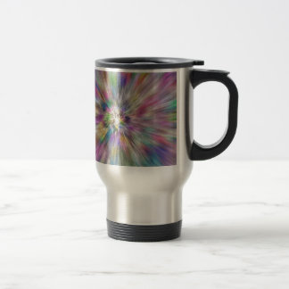 Starburst of Color Travel Mug
