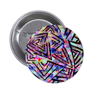 Starburst Pinback Button