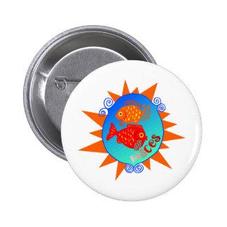 Starburst Piscis Pin