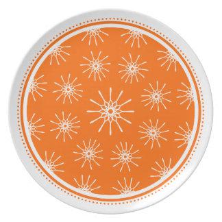 Starburst Plate - Choose Your Color