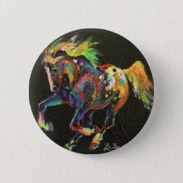 starburst pony small button