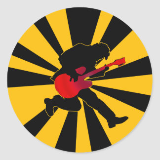 Starburst Rocker Sticker