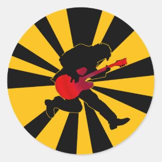 Starburst Rocker Sticker