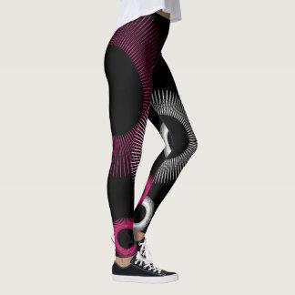 Starburst rosado leggings