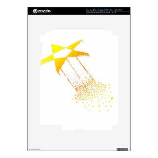 STARBURST STARS DECALS FOR iPad 3