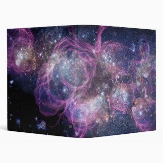 Starburst Stellar Fireworks Finale Outer Space Binder