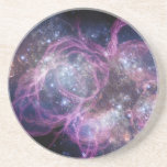 Starburst Stellar Fireworks Finale Outer Space Beverage Coasters