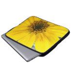 Starburst Sunflower Laptop Computer Sleeve