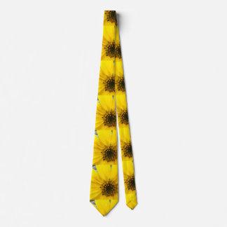 Starburst Sunflower Neck Tie