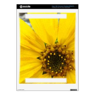 starburst sunflower xbox 360 console decal