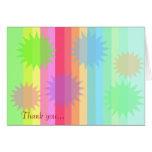 """Starburst """"Thank You"""" Card"""