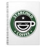 Starchild Coffee Spiral Notebooks