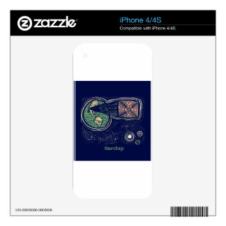 Starchip Decals For iPhone 4
