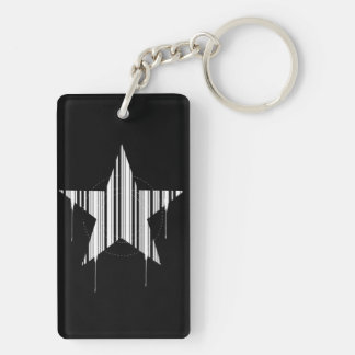 starcode Double-Sided rectangular acrylic keychain