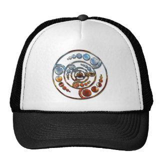 Stardrive-Chrome Crop Circle Trucker Hat