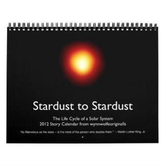 Stardust al calendario de Stardust 2012